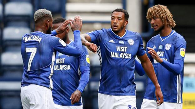 Preston North End 1-3 Cardiff City: Late strikes see Bluebirds leapfrog Preston into play-offs thumbnail