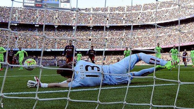 Lionel Messi penalty miss