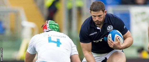Ross Ford has started all of Scotland's Six Nations matches this year