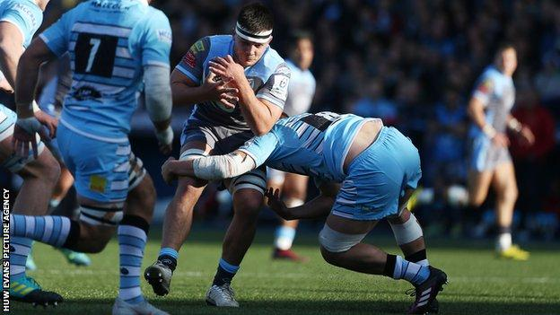 Ellis Jenkins last played for Cardiff Blues against Glasgow in October 2018