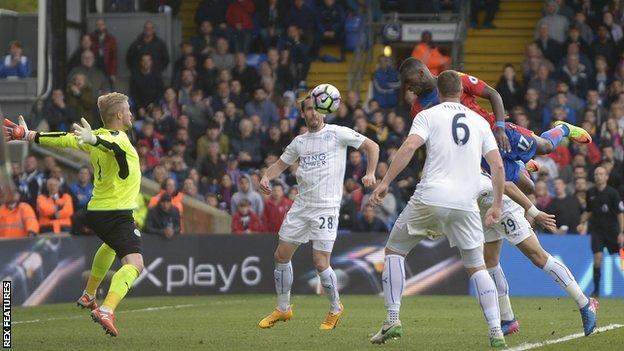 Palace striker Christian Benteke