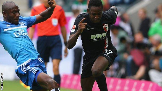 Chelsea's former Augsburg defender Baba Rahman