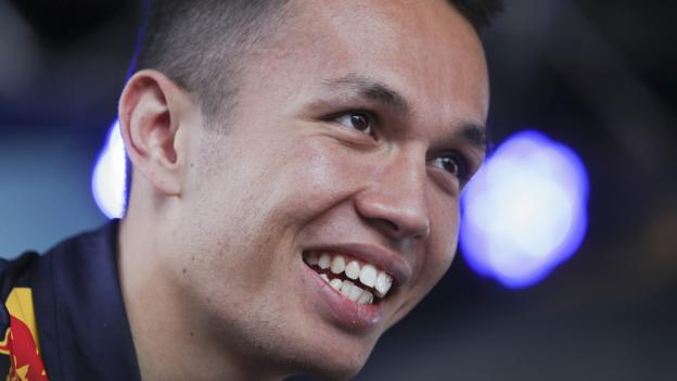 Albon named Red Bull second driver for 2020
