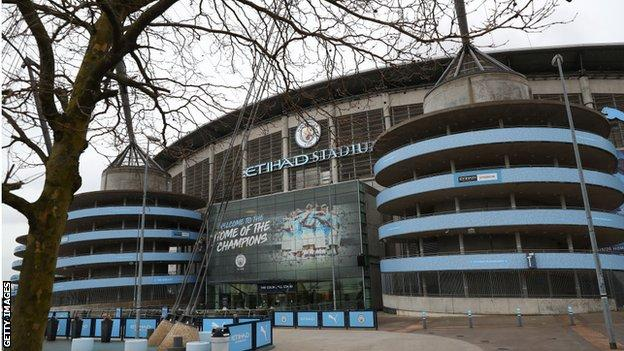 Manchester CIty's Etihad Stadium has been touted as a potential neutral venue
