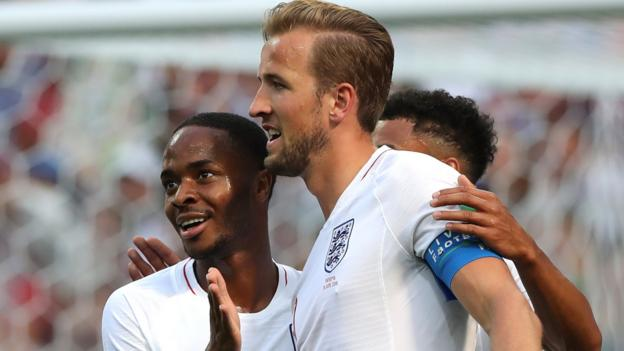 102508588 sterlingandkane - World Cup 2018: How Gareth Southgate's group came to signify'trendy England'