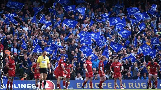 Scarlets reached the Champions Cup semi-finals last season before bowing out to eventual champions Leinster