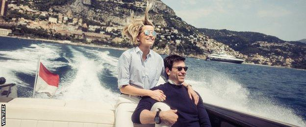 Susie Wolff with husband Toto
