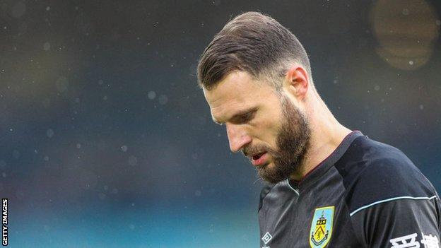 Burnley defender Erik Pieters