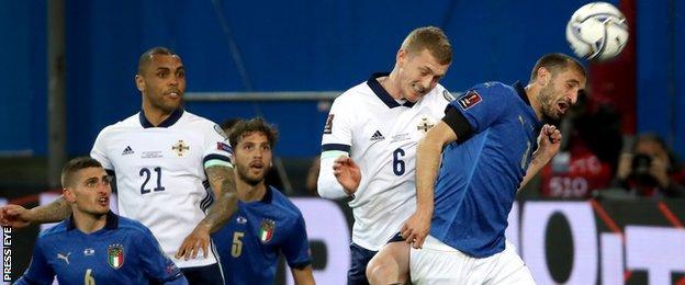 L'Irlanda del Nord non è stata in grado di rompere la lunga serie di imbattibilità dell'Italia