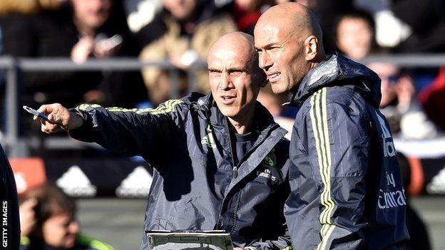 David Bettoni and Zinedine Zidane