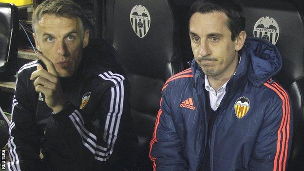 Phil Neville and Gary Neville