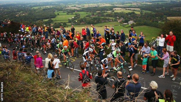Stage seven of the 2014 Tour of Britain