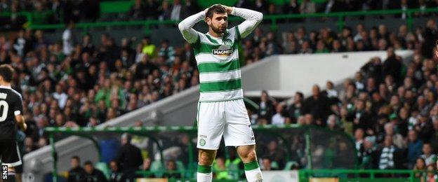 It was another frustrating night in front of goal for Nadir Ciftci