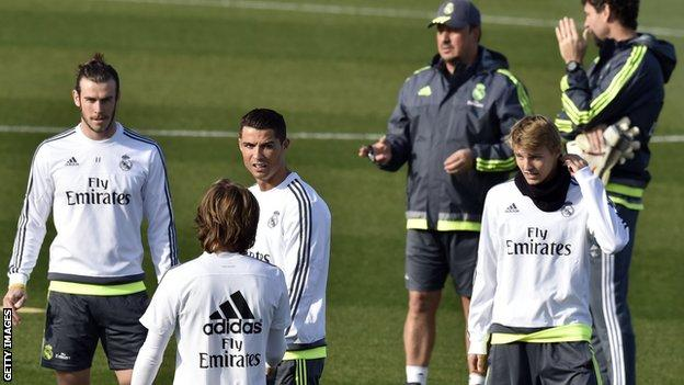 Rafa Benitez at Real Madrid