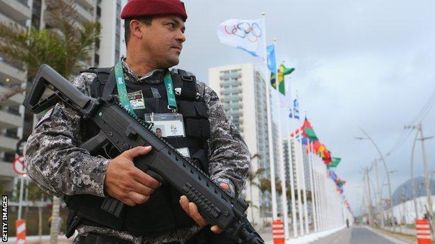 security at rio