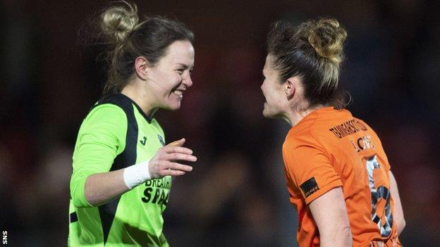 Glasgow City beat Brondby on penatlies to reach the Champions League last 16