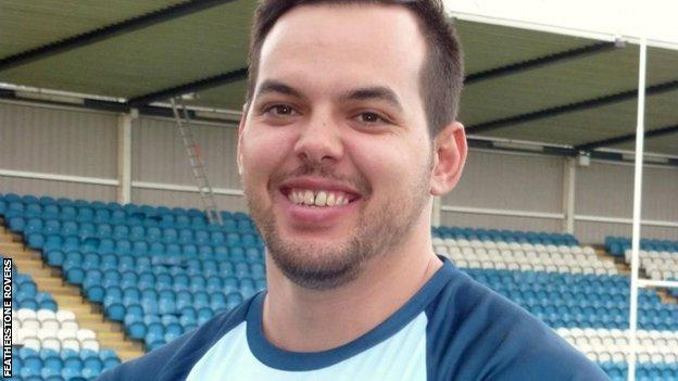 Ex-Featherstone Rovers prop Ryan Verlinden