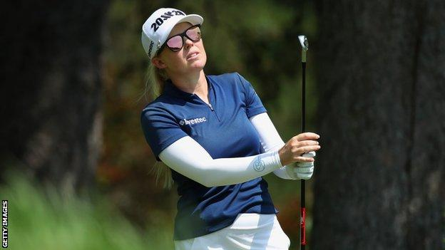 Stephanie Meadow finished third on her US Open debut in 2014