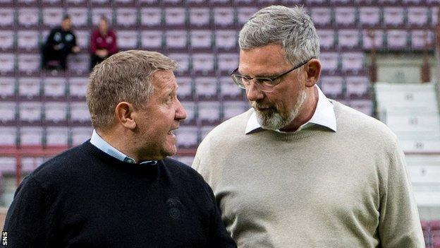 John Robertson has been mooted as a potential successor to Craig Levein