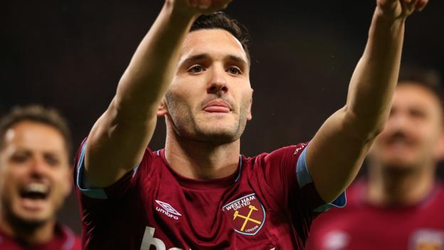 West Ham 3-1 Cardiff: Lucas Perez scores twice in comfortable Hammers win thumbnail