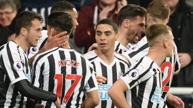 Newcastle United 2-0 Burnley thumbnail