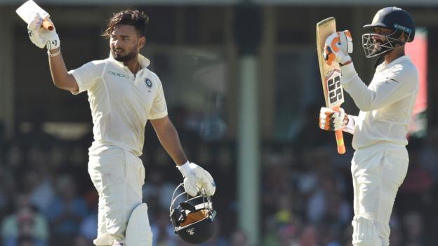 Australia v India: Pujara & Pant keep tourists on course for historic series win thumbnail