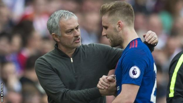 An assist, a pat on the back from the manager and deserved praise - Luke Shaw made a successful return to Manchester United's team