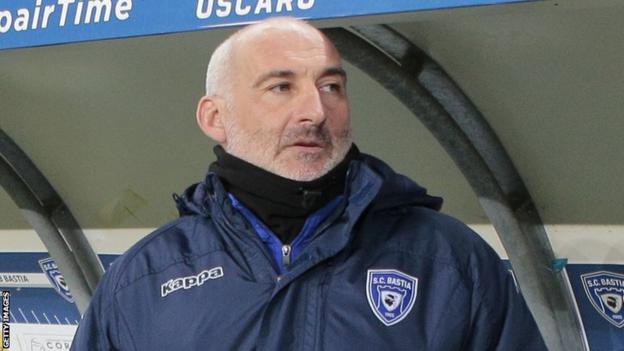 Francois Ciccolini during his time at SC Bastia