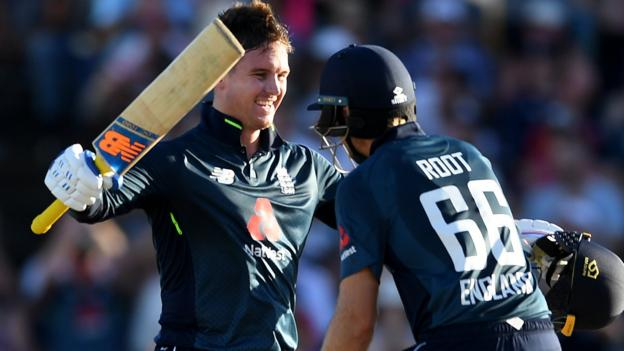 England in West Indies: Jason Roy & Joe Root centuries guide tourists to impressive win thumbnail