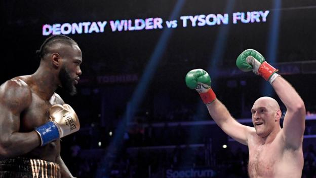 Deontay Wilder v Tyson Fury rematch: WBC 'confident' the fight will take place thumbnail