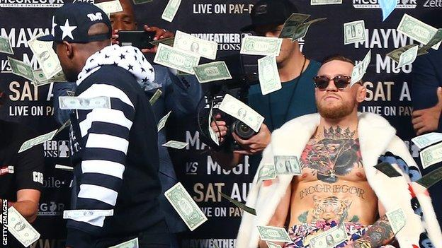 Mayweather believes he will earn $300m from the bout on 26 August