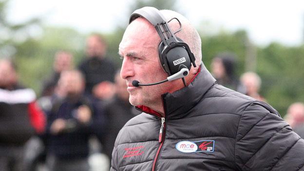 Ulster Grand Prix clerk of the course Noel Johnston