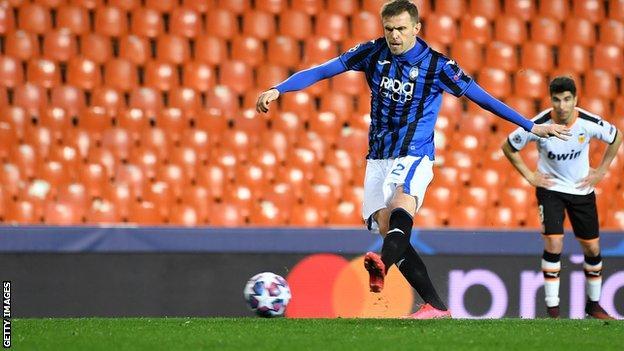 Atalanta forward Josip Ilicic