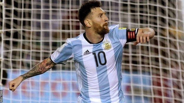 Lionel Messi has never won the World Cup