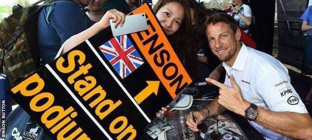 Jenson Button instagram