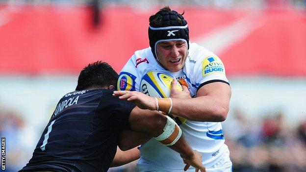 Mitch Lees Exeter Chiefs