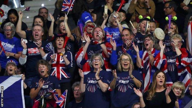 GB tennis fans
