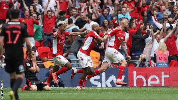 Sunderland were beaten 2-1 by Charlton at Wembley in the League One play-off final
