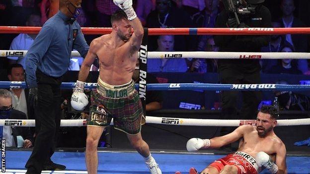 Josh Taylor made British boxing history with victory over Jose Ramirez in Las Vegas