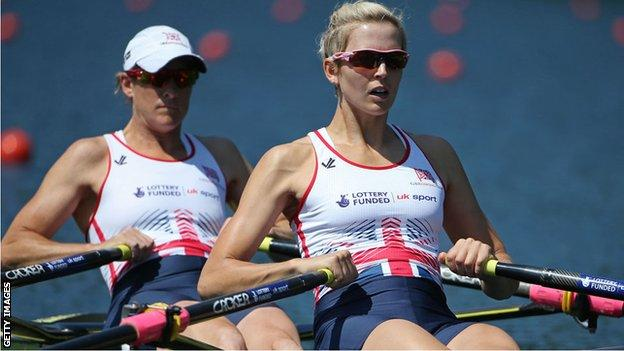 Katherine Grainger and Victoria Thornley