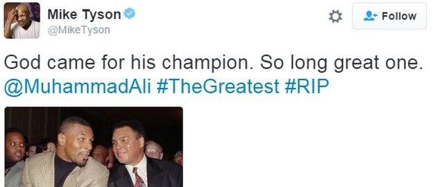 Mike Tyson twitter