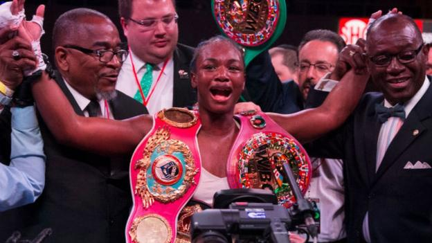 Claressa Shields seeks boxing record with win over Ivana Habazin thumbnail