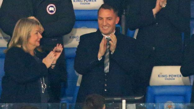 Leicester City 2-1 Brighton & Hove Albion: Brendan Rodgers watches new side win thumbnail