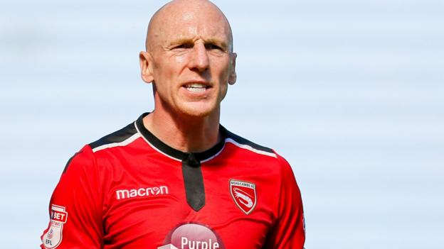 Kevin Ellison Morecambe Midfielder Gives Depression