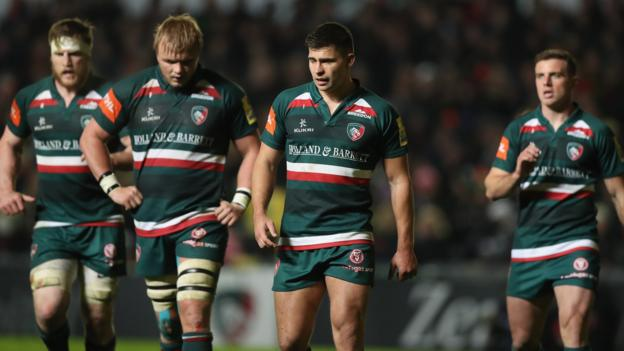 Leicester tigers what 39 s behind premiership club missing out on play offs bbc sport - English rugby union league tables ...
