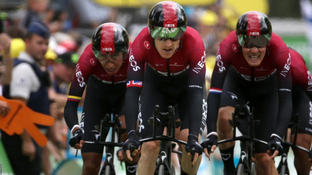 Tour de France: Geraint Thomas says Team Ineos must stay united thumbnail