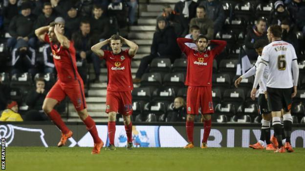 Derby County v Blackburn Rovers