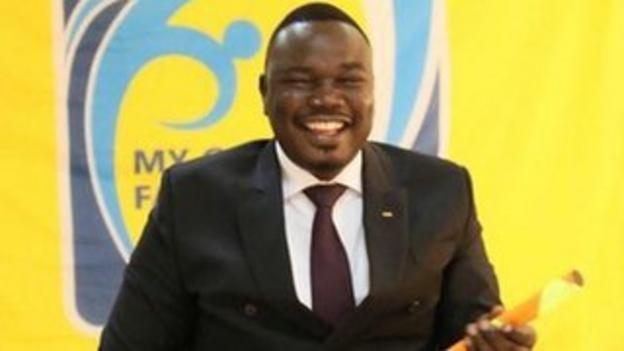 South Sudan FA president Chabur Goc Alei