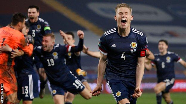 Scott McTominay for Scotland