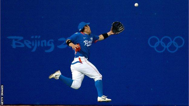 Baseball was played at Beijing 2008 Olympics before being removed from the Olympic programme